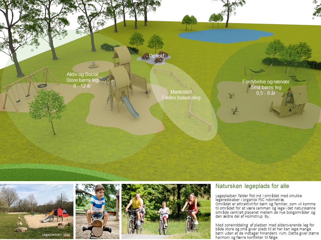 Borgermøde: En ny legeplads og et fitness areal i Holmstrup?